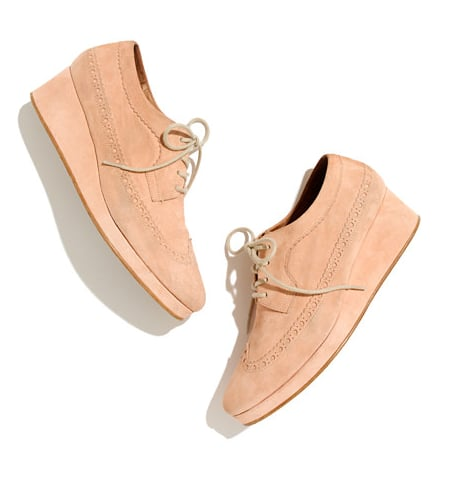 Want a little height? Then we recommend you go with these Madewell platform oxfords ($236, originally $295).