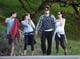 Ricky Van Veen and Allison Williams met up with John Mayer and Katy Perry for a hike in LA.