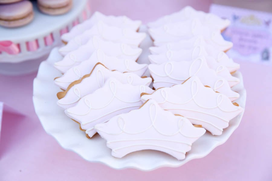Princess Crown Cookies
