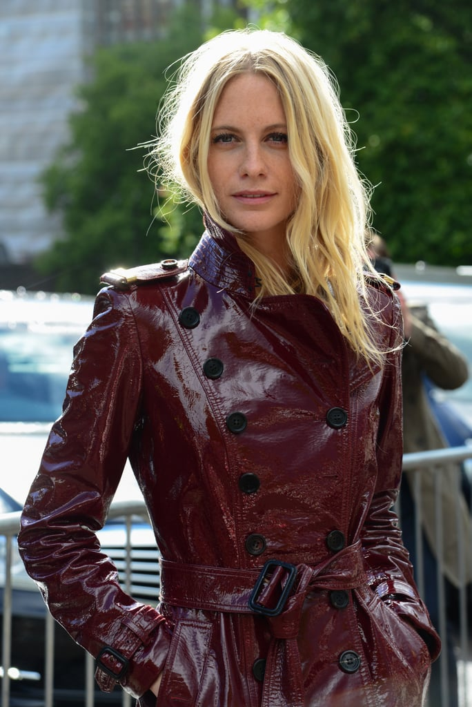 Poppy Delevingne at Burberry Prorsum Spring 2014.