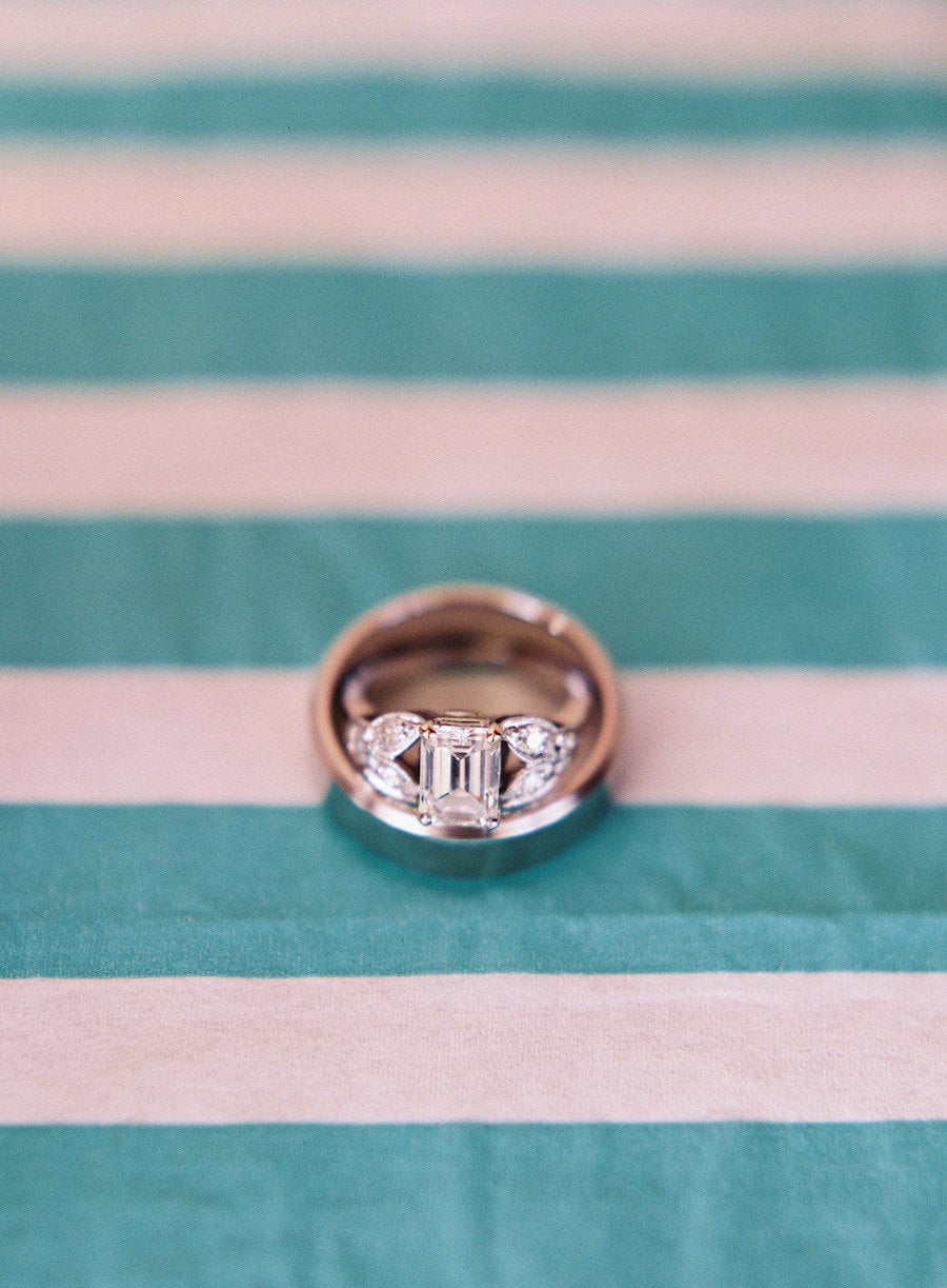 3. Rings on a Graphic Background