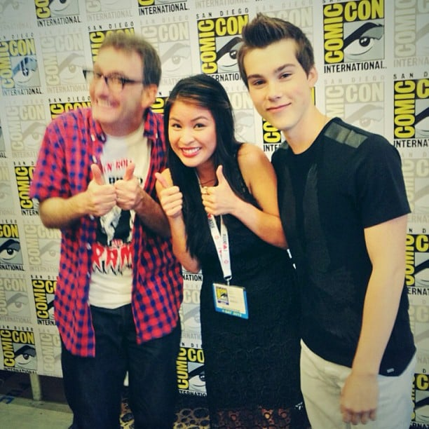 Talking with the Ice King and Finn! They took our pressing Adventure Time question.