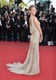 Erin Heatherton put her beautifully draped backside on display in a golden Roberto Cavalli gown at the Behind the Candelabra premiere.
