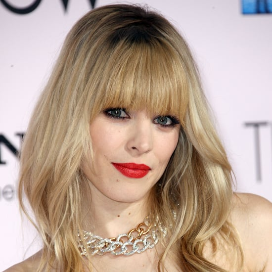 With a bright red lip, inky black liner, and a full set of fringe, what's not to like about this all-around gorgeous look?