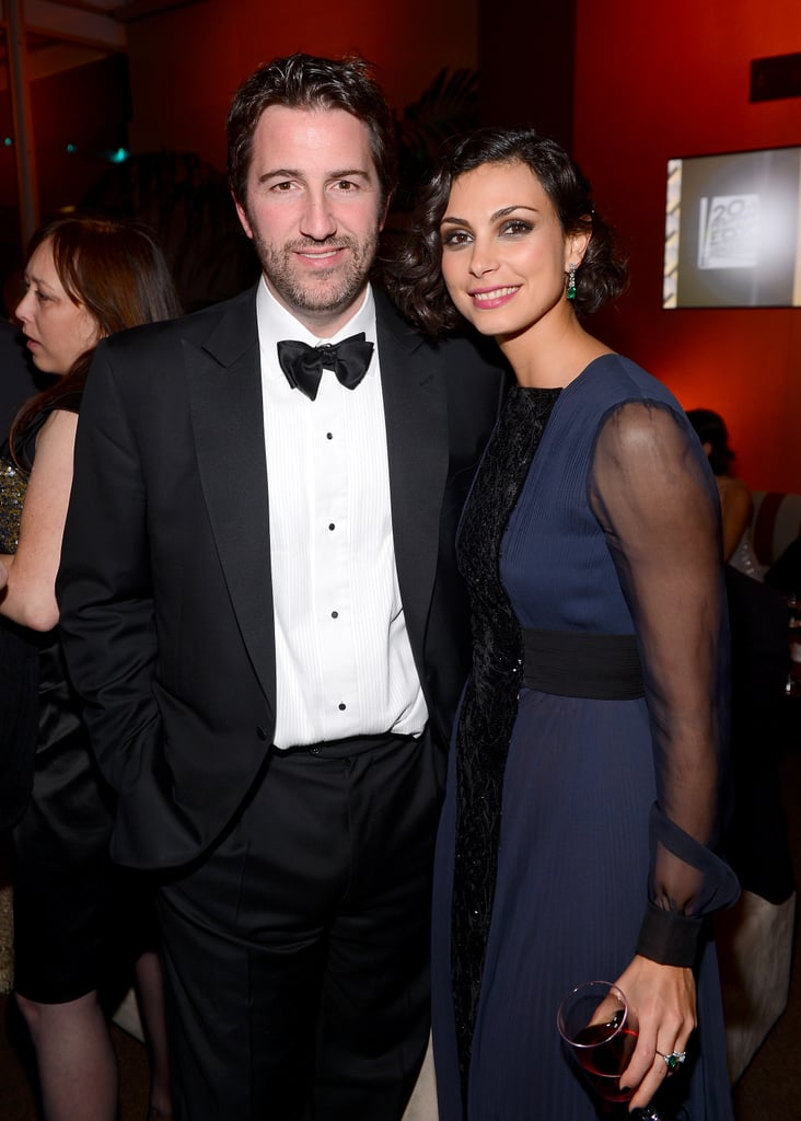 Homeland's Morena Baccarin attended the Fox bash.