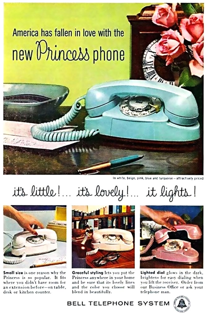 Princess Phone by Bell