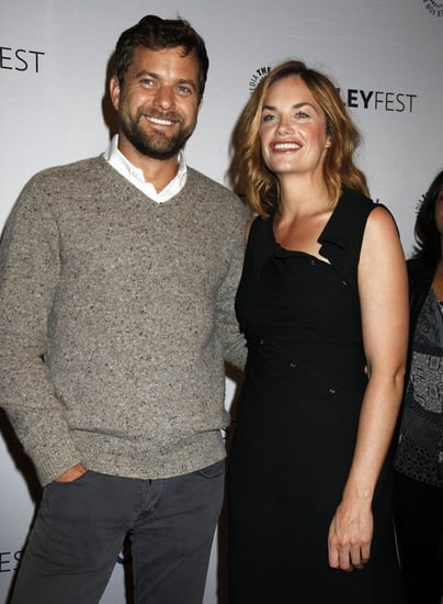 Joshua Jackson and Ruth Wilson have lunch and drinks together in New York
