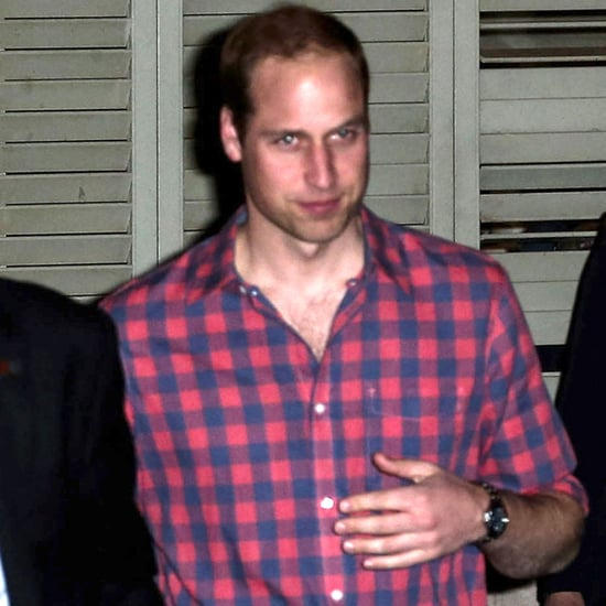 Prince William and Prince Harry at Dinner in Memphis