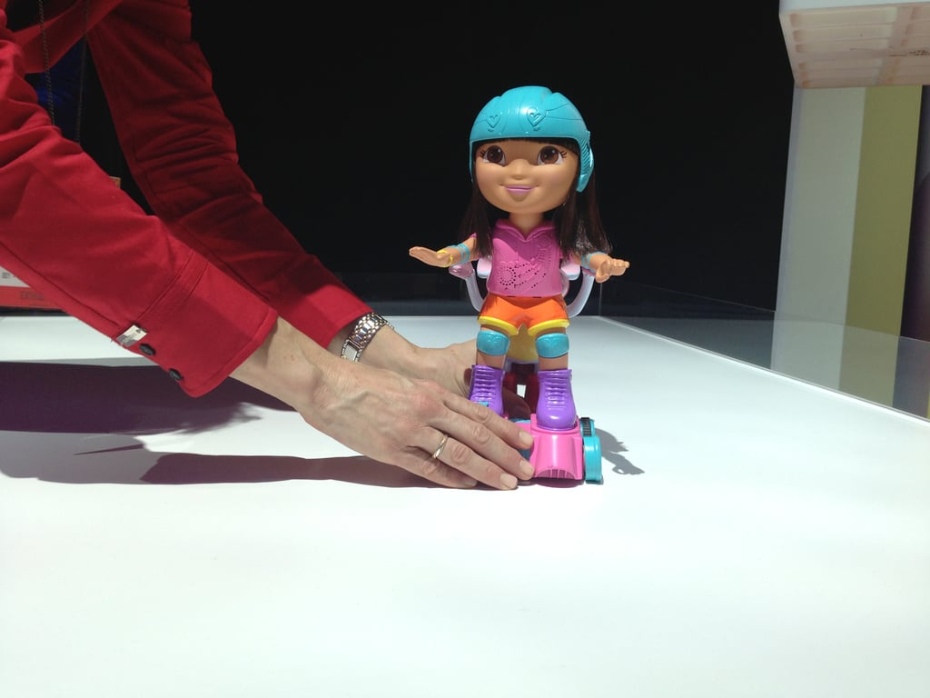 Mattel's Dora's going roller-skating — all by herself!