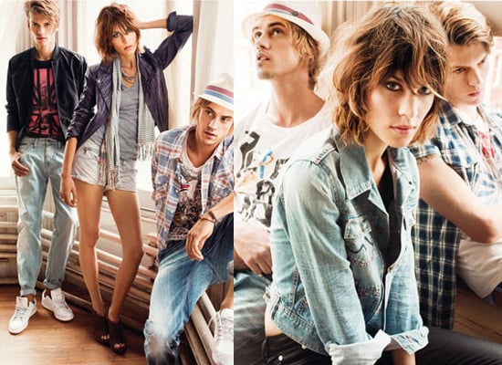 Photos of Alexa Chung for Pepe Jeans