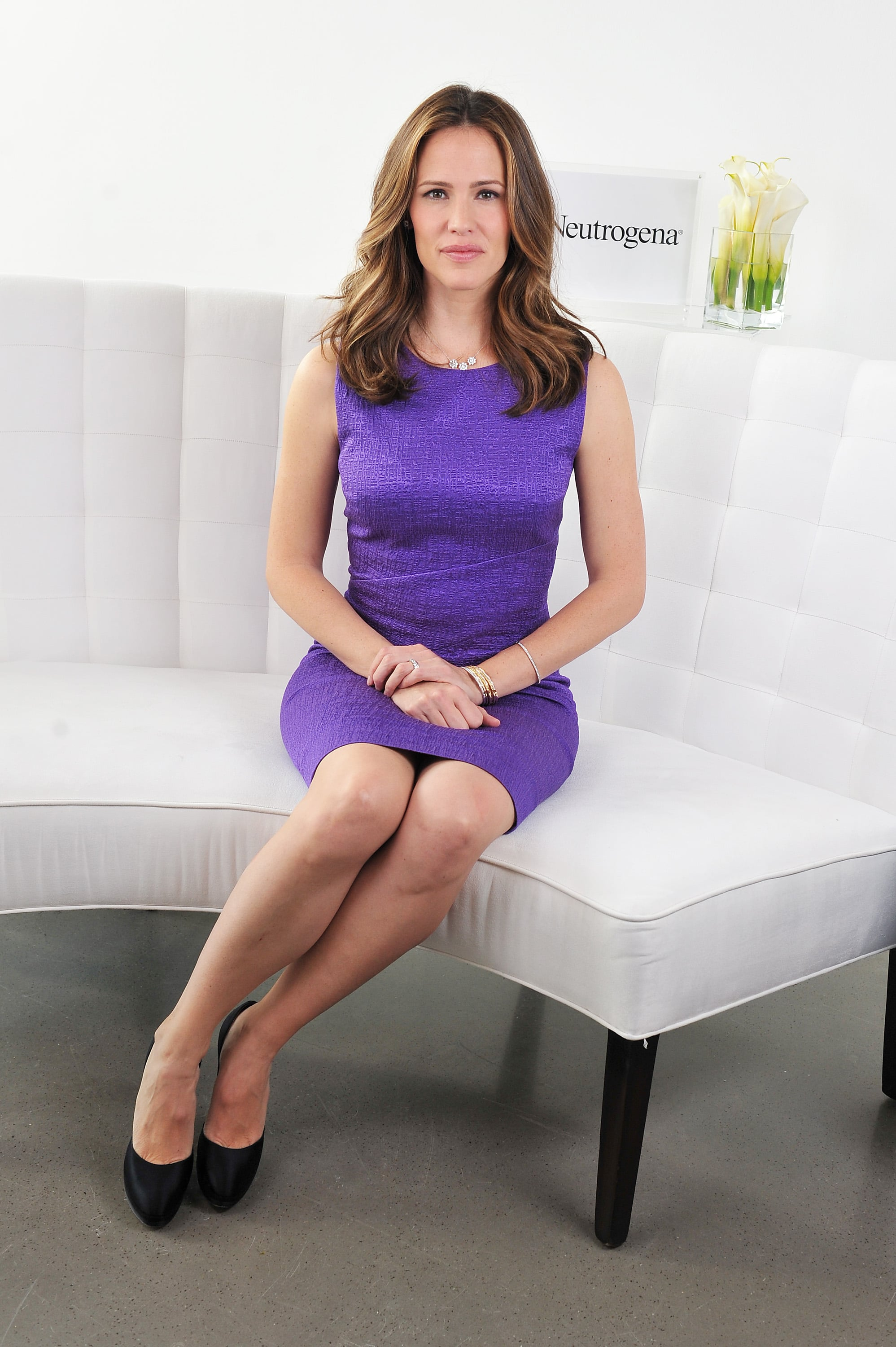 Jennifer Garner educated attendees about skin health.