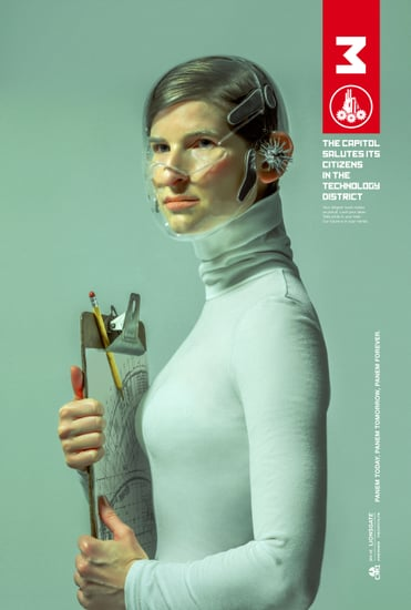Get a Peek at Each District in These New Mockingjay Posters