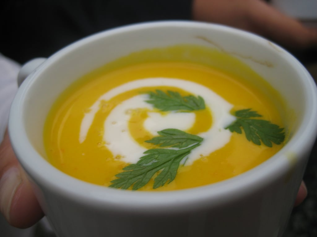 The Food: Carrot Soup