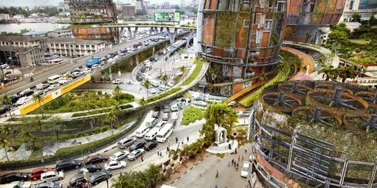 Nigerian Artist Imagines How Shantytowns Would Look In A Sci-Fi Future