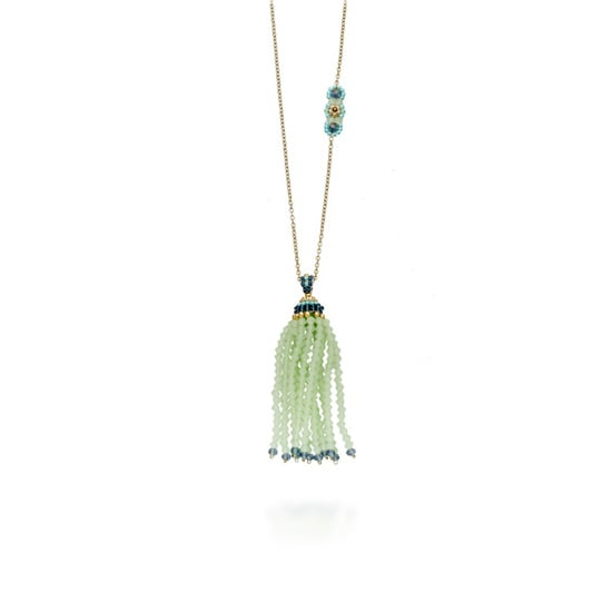 Necklace, approx. $250, Miguel Ases at Astley Clarke
