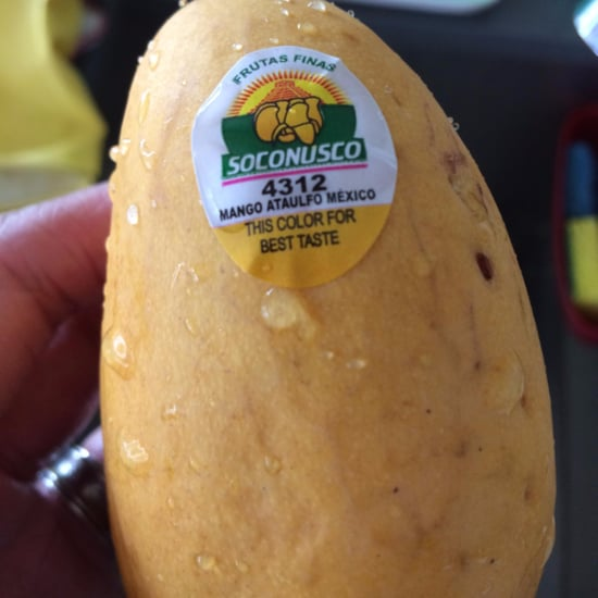 Sticker That Tells You When Mangoes Are Ripe