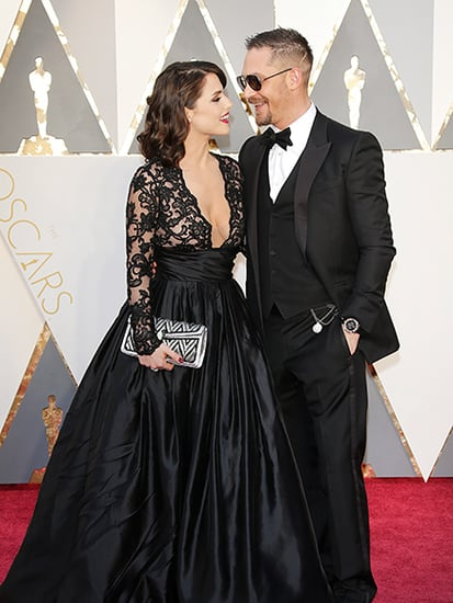 The Internet Can't Get Over Tom Hardy's Beautiful Wife Charlotte Riley at the Oscars