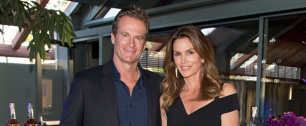 Cindy Crawford and Rande Gerber Team Up For a Good Cause and Look Great Doing So