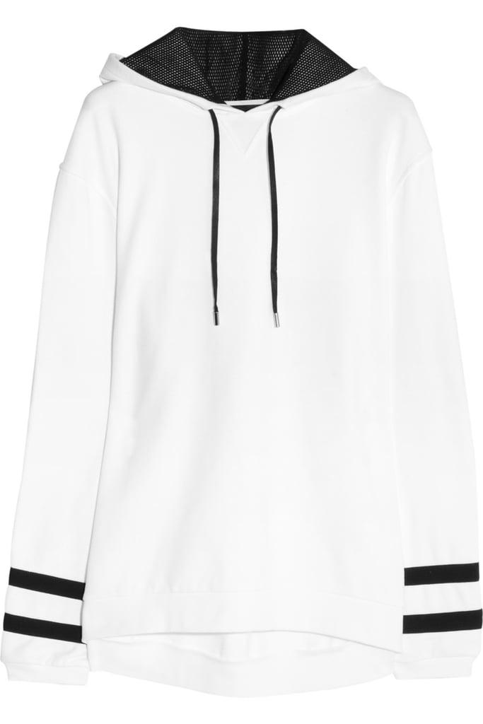 Karl Lagerfeld Samantha cotton-jersey hooded sweatshirt ($235)