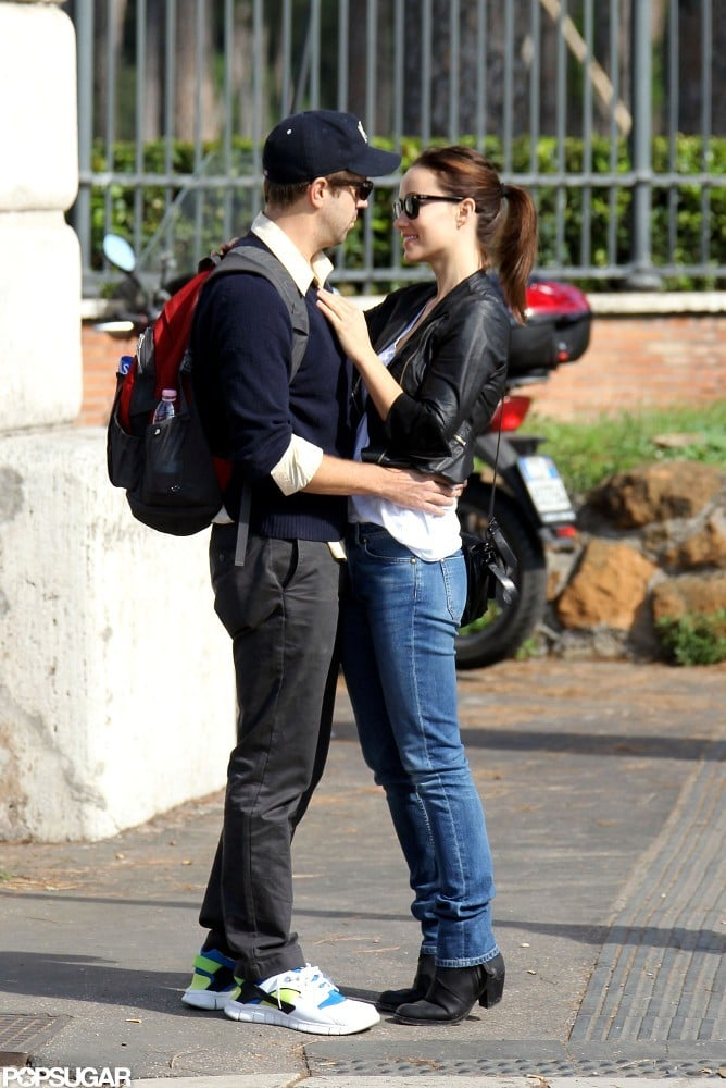 Olivia Wilde and Jason Sudeikis got close while vacationing in Rome.