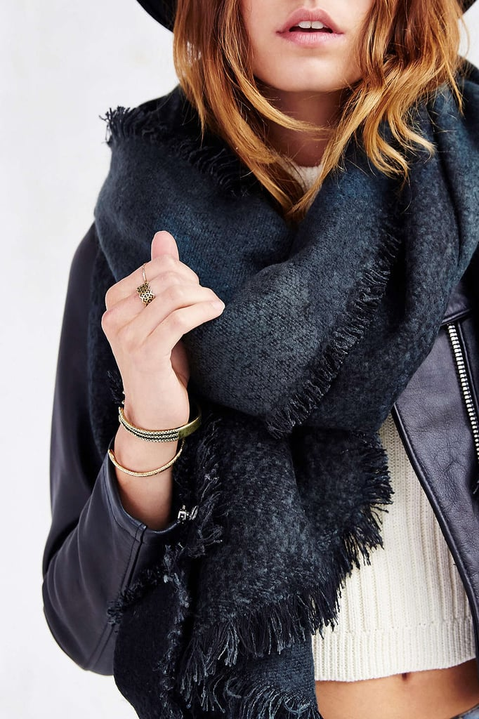 This Urban Outfitters oversize blanket scarf ($39) will surround the wearer in what we'll call an embrace of warmth.