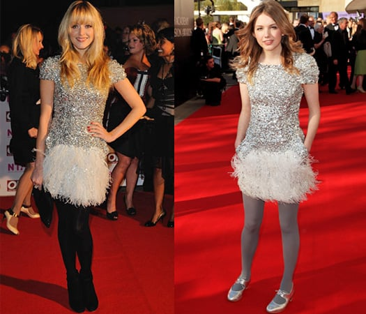 Fearne Cotton and Hannah Murray Wearing Colette Dinnigan