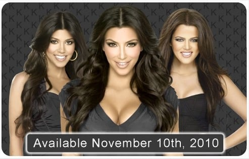 Kardashian Prepaid MasterCards