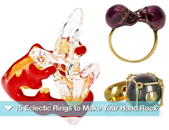 Stylish and Statement Cocktail Rings