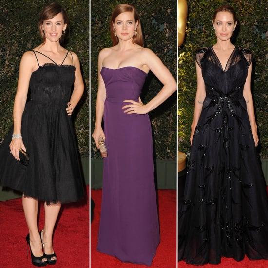 Angelina Jolie Governors Awards Dress 2013