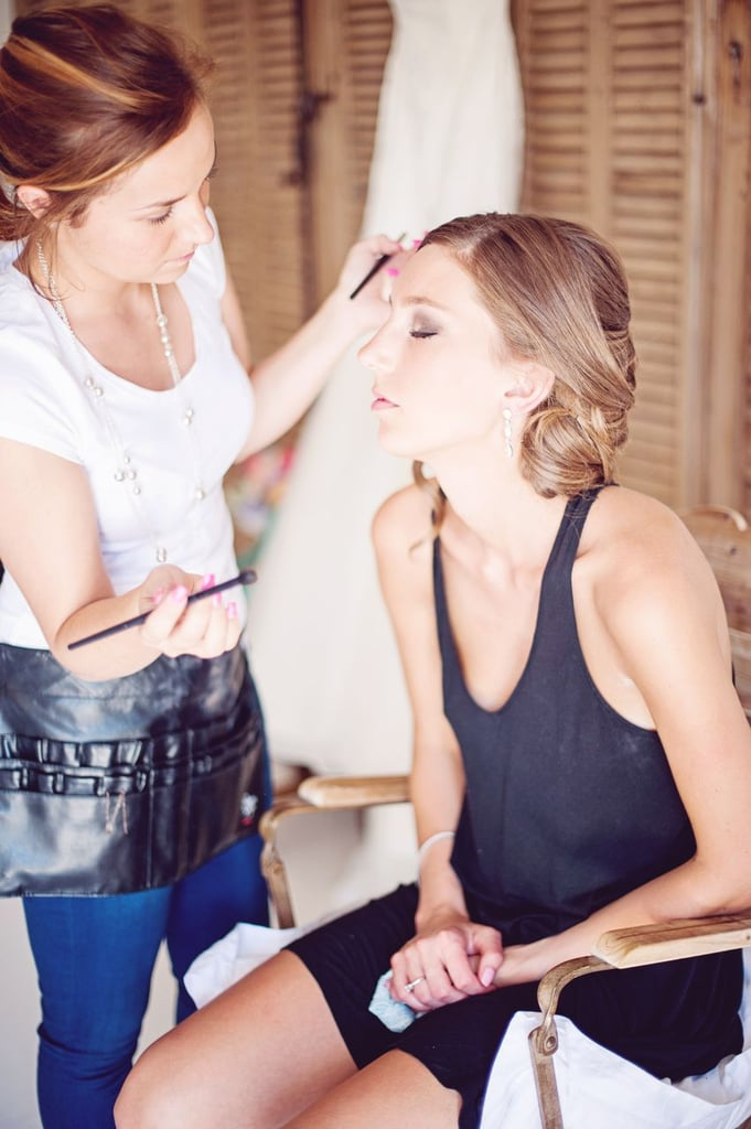 Hair and Makeup For the Bride