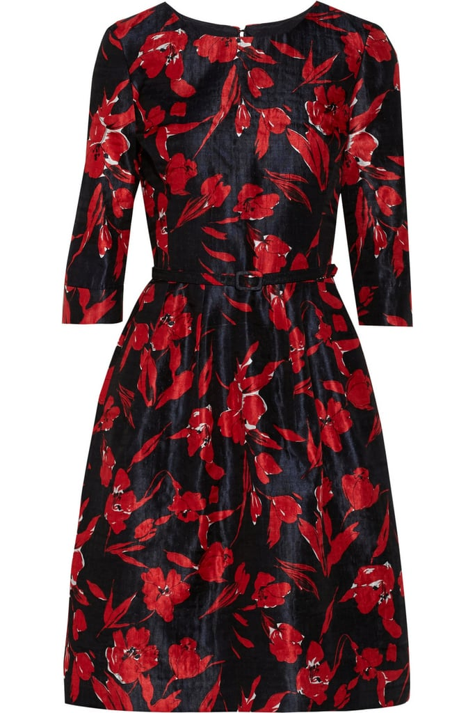 Whenever Oscar de la Renta becomes slightly more affordable, my ears perk up. His latest collection for The Outnet is just as good as his first — and this ladylike floral dress ($950) may just be the strongest piece from the stunning capsule.  — RK