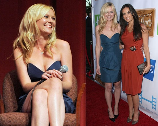Photos of Kirsten Dunst and Demi Moore Premiering Their Short Films