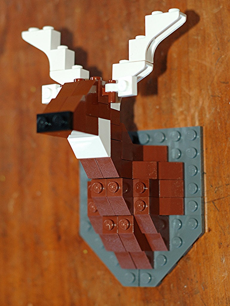 Lego Taxidermy Deer