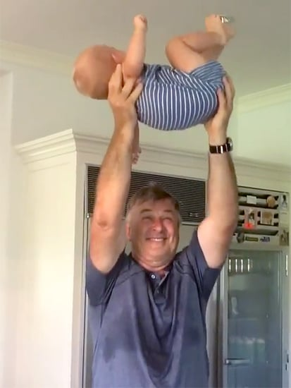 Alec Baldwin Breaks a Sweat with the Help of 14-Month-Old Son Rafael
