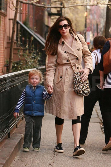 Liv Tyler and her son, Milo walked hand in hand on the streets of NYC.
