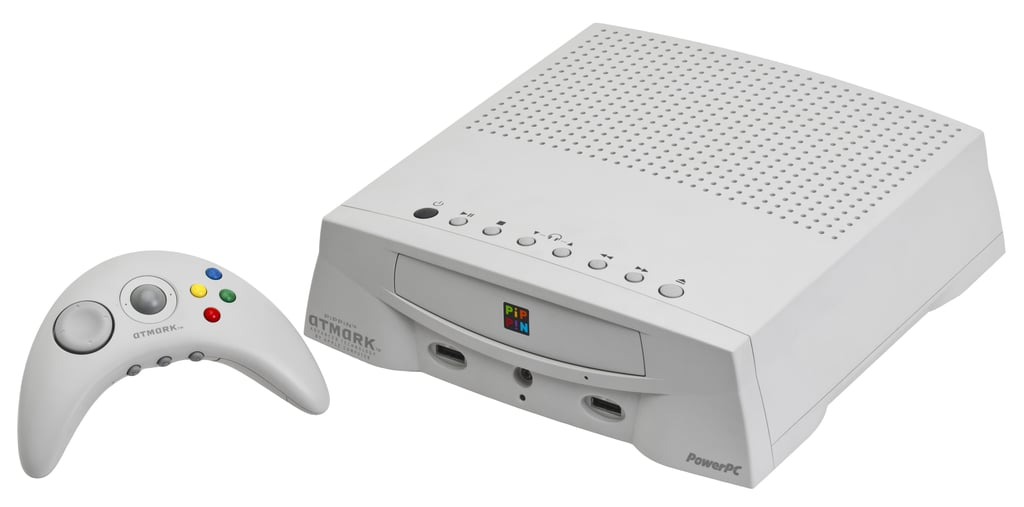 Apple definitely had a few flubs before it struck technology gold with the iPhone. In 1996, the company released a gaming console called Pippin, which sadly never stood a chance against Nintendo. Source: WikiCommons