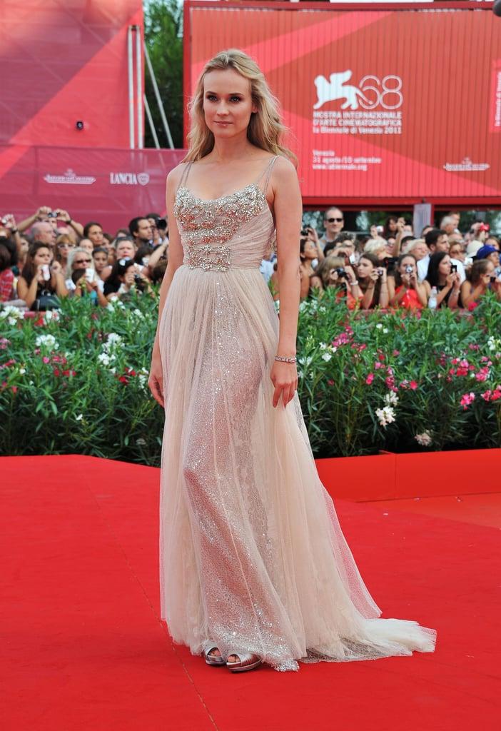 Diane Kruger sparkled on the red carpet.