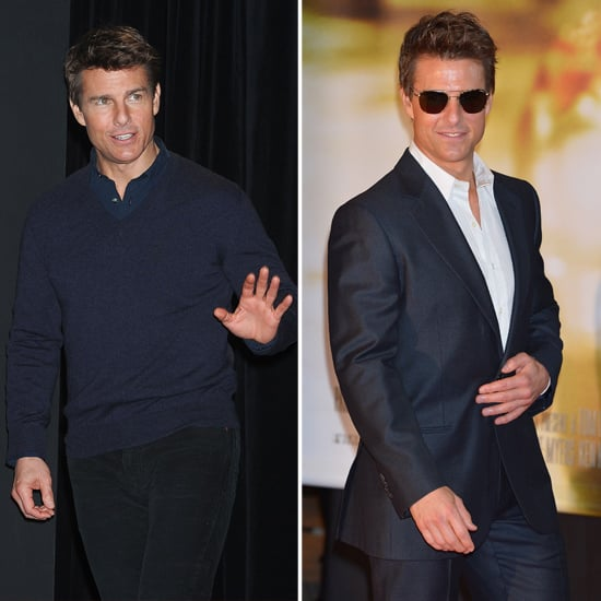 Tom Cruise Wraps Up His Family Holiday to Take Jack Reacher to Japan