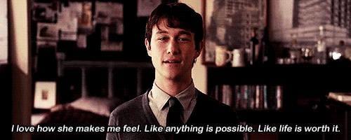 But also hope, falling in love, and Joseph Gordon-Levitt's adorableness.