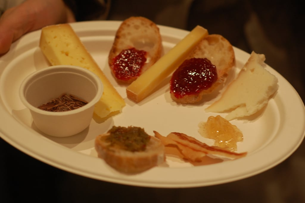 We loved tasting the winning products from each region of the country.