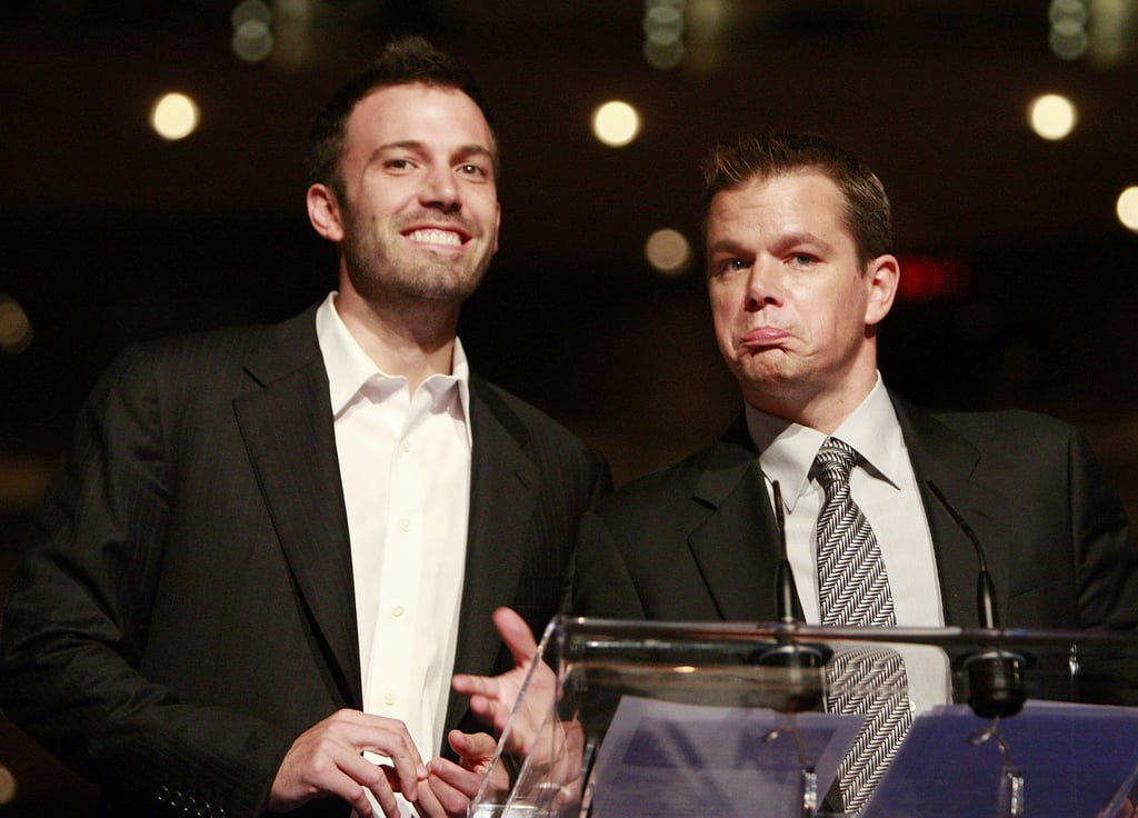 Old friends Ben Affleck and Matt Damon teamed up at the OneXOne Gala event in 2007.