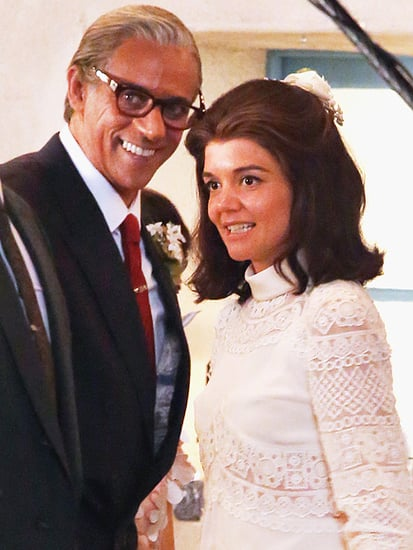Katie Holmes Stuns as Jacqueline Kennedy Onassis on Her Wedding Day in The Kennedys: After Camelot