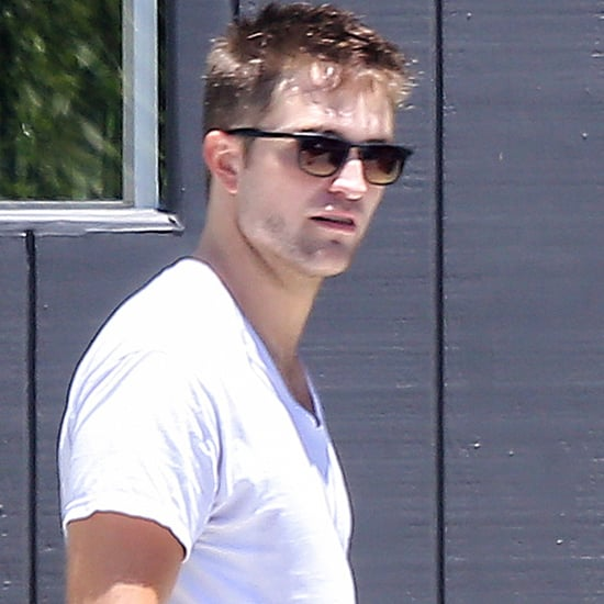 Robert Pattinson Goes to the Gym in LA | Pictures