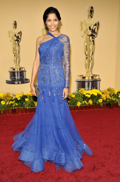 Freida Pinto at the 2009 Academy Awards