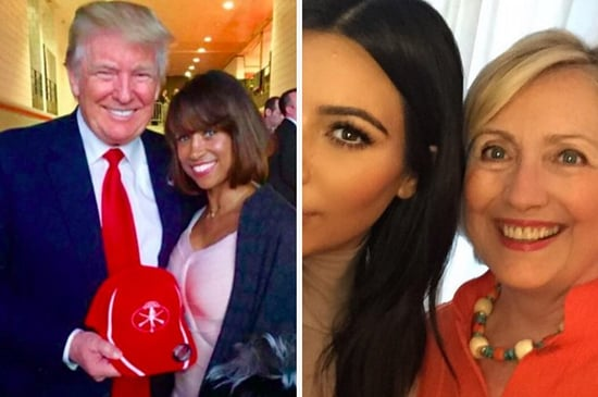 Celebrities Who Hang With Donald Trump Vs. Celebrities Who Hang With Hillary Clinton
