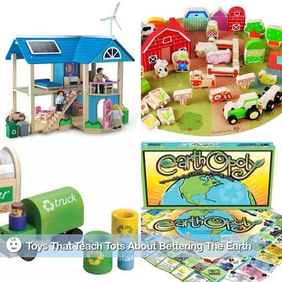 Toys That Teach Kids About Environmentally Friendly Living