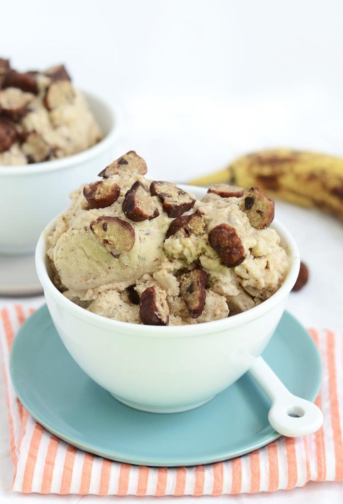 Vegan Cookie Dough Banana Ice Cream