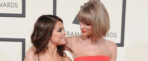 You'll Want to Send This GIF of Selena Gomez Reacting to Taylor Swift's Grammys Win to All Your BFFs