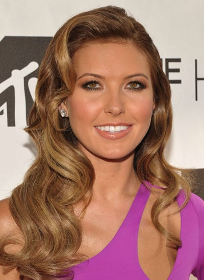 July 2010: Audrina at The Hills Finale Party