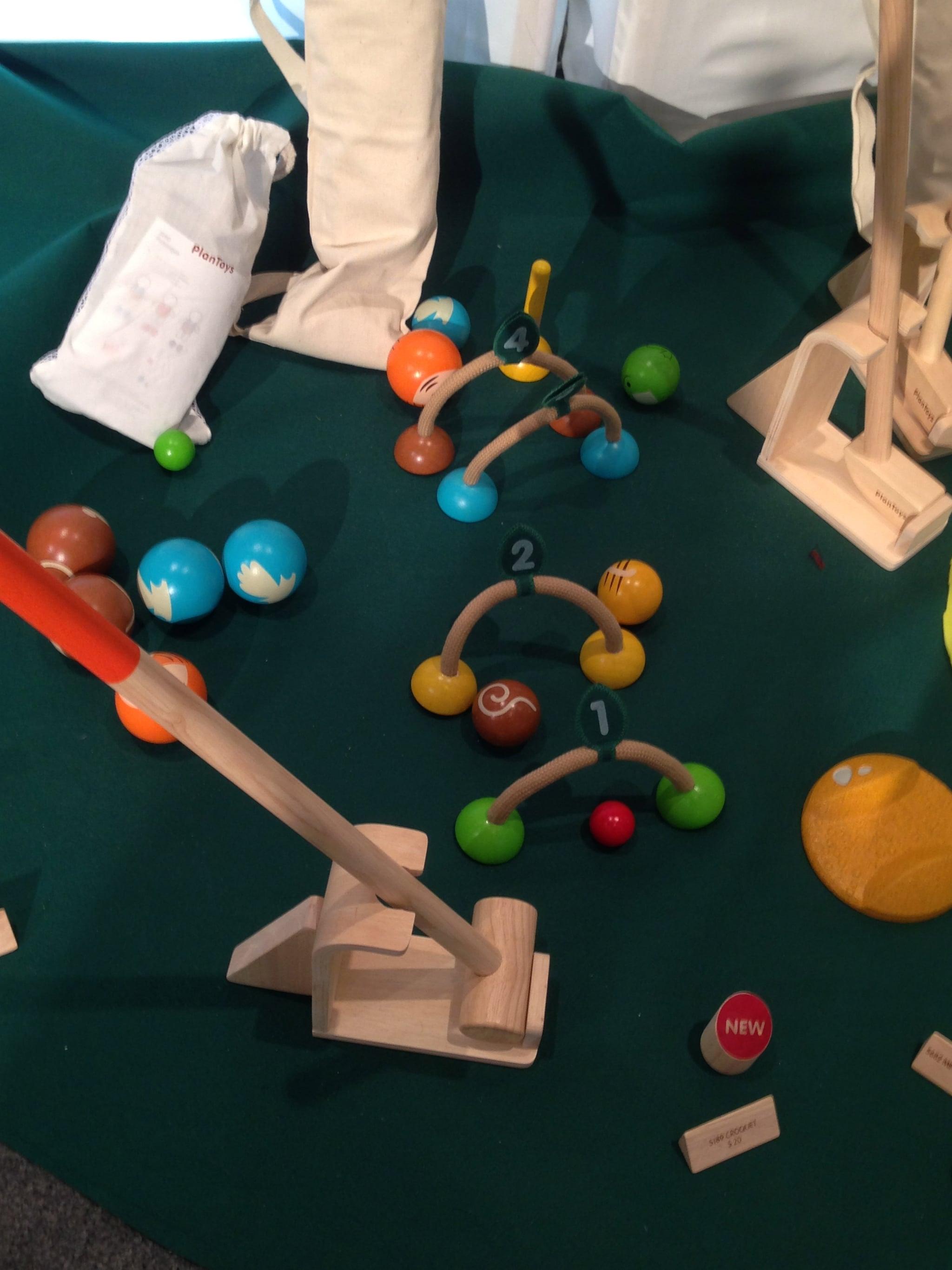 Play Toys Croquet Set
